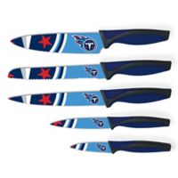 NFL Tennessee Titans 5-Piece Stainless Steel Knife Set
