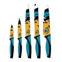 NFL Jacksonville Jaguars 5-Piece Stainless Steel Knife Set