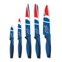 NFL Buffalo Bills 5-Piece Stainless Steel Knife Set