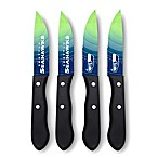 NFL® Seattle Seahawks 4-Piece Stainless Steel Steak Knife Set