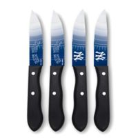 MLB® New York Yankees 4-Piece Stainless Steel Steak Knife Set