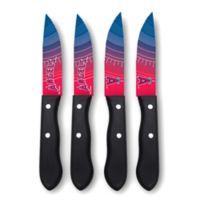 MLB® Los Angeles Angels 4-Piece Stainless Steel Steak Knife Set