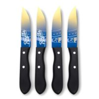 MLB® Kansas City Royals 4-Piece Stainless Steel Steak Knife Set