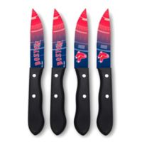 MLB® Boston Red Sox 4-Piece Stainless Steel Steak Knife Set