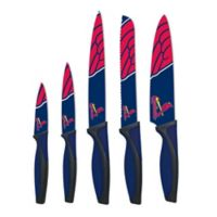 MLB St. Louis Cardinals 5-Piece Stainless Steel Cutlery Knife Set