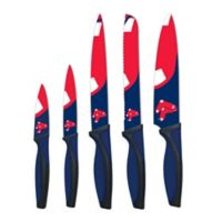 MLB Boston Red Sox 5-Piece Stainless Steel Cutlery Knife Set