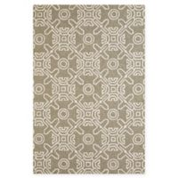 Panama Jack Maui 7-Foot 10-Inch x 9-Foot 10-Inch Indoor/Outdoor Rug in Grey
