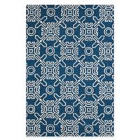 Panama Jack Maui 7-Foot 10-Inch x 9-Foot 10-Inch Indoor/Outdoor Rug in Blue