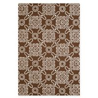 Panama Jack Maui 7-Foot 10-Inch x 9-Foot 10-Inch Indoor/Outdoor Rug in Brown