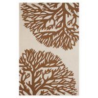 Panama Jack Coral Gables 1-Foot 11-Inch x 3-Foot Indoor/Outdoor Rug in Brown