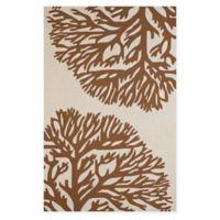Panama Jack Coral Gables 5-Foot x 7-Foot 6-Inch Indoor/Outdoor Rug in Brown