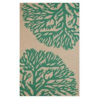 Panama Jack Coral Gables 7-Foot 10-Inch x 9-Foot 10-Inch Indoor/Outdoor Rug in Green