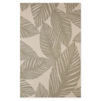 Panama Jack Palm Coast 1-Foot 11-Inch x 3-Foot Indoor/Outdoor Accent Rug in Grey