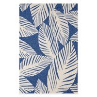 Panama Jack Palm Coast 5-Foot x 7-Foot 6-Inch Multicolor Indoor/Outdoor Area Rug
