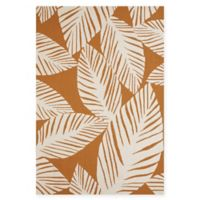 Panama Jack Palm Coast 5-Foot x 7-Foot 6-Inch Indoor/Outdoor Area Rug in Spice