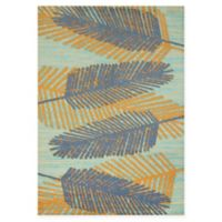 Panama Jack Breezy Days 2-Foot 7-Inch x 3-Foot 11-Inch Accent Rug in Blue