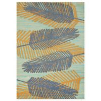 Panama Jack Breezy Days 5-Foot 3-Inch x 7-Foot 2-Inch Area Rug in Blue