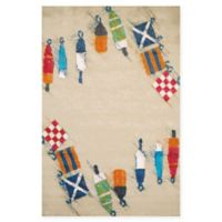 Panama Jack Set Sail 2-Foot 7-Inch x 3-Foot 10-Inch Accent Rug in Sand