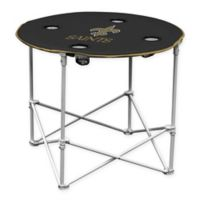 NFL New Orleans Saints Round Collapsible Table