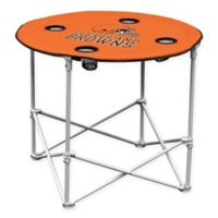 NFL Cleveland Browns Round Collapsible Table