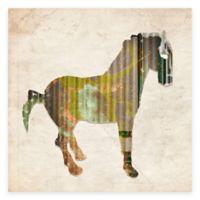 Cardboard Horse II Wall Art