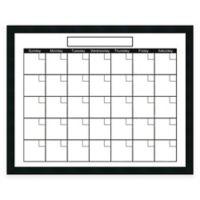 Mezzanotte Dry-Erase Calendar in White