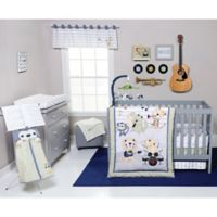 Trend Lab® Safari Rock Band 6-Piece Crib Bedding Set