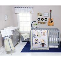 Trend Lab® Safari Rock Band 6-Piece Crib Bedding Set