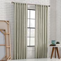 KAS Room 63-Inch Bespoke Rod Pocket Back-Tab Panel in Mist