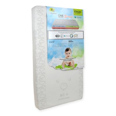 kidicomfort stages 3in1 tencel crib mattress