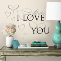 P.S. I Love You Peel and Stick Wall Decals