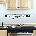 Home Sweet Home Peel and Stick Wall Decals