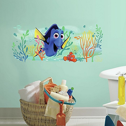 Finding dory and nemo peel and stick giant wall decal - Wall stickers camerette ...