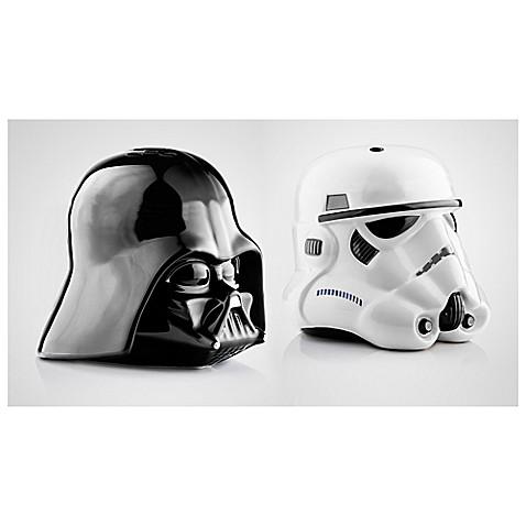 Star wars darth vader and stormtrooper salt and pepper shaker set bed bath beyond - Darth vader and stormtrooper salt and pepper shakers ...