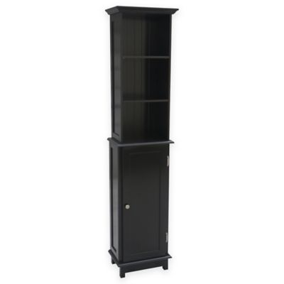 Buy Summit Tall Cabinet Tower In Espresso From Bed Bath