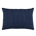 Wilton 12-Inch x 18-Inch Oblong Throw Pillow in Blue