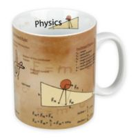 Konitz Physics Knowledge Mugs (Set of 4)