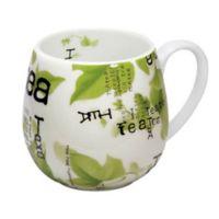 Konitz Tea Collage Snuggle Mugs (Set of 4)