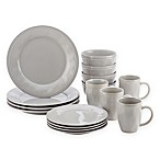 Rachael Ray™ Cucina 16-Piece Dinnerware Set Grey