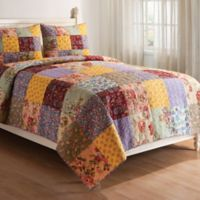Floria Reversible Twin Quilt Set