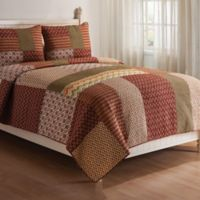 Santa Ana Reversible Full/Queen Quilt Set
