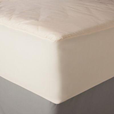 Allerease Extra Large Twin Naturals Organic Cotton Waterproof Mattress Pad