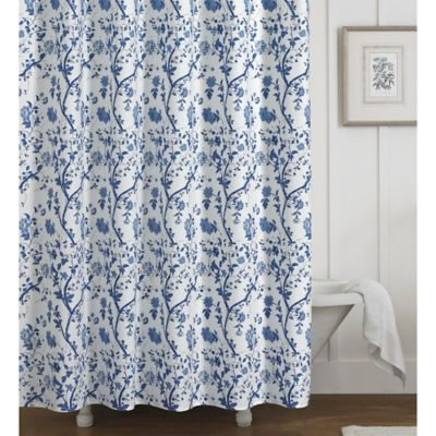 buy tree shower curtain from bed bath amp beyond pine cone branches fabric shower curtain bed bath amp beyond