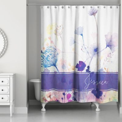 Buy Purple Shower Curtains from Bed Bath & Beyond