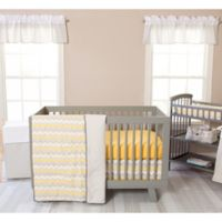 Trend Lab® Buttercup Zigzag 3-Piece Crib Bedding Set