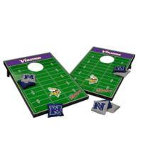 NFL Minnesota Vikings Tailgate Toss Cornhole Set