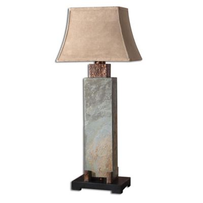 Uttermost Tall Slate Indoor/Outdoor Table Lamp