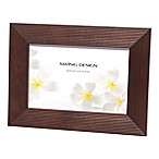 Swing Design™ Linia 4-Inch x 6-Inch Wood Picture Frame in Espresso