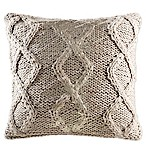 KAS Room Nola 18-Inch x 18-Inch Ivory Decorative Pillow