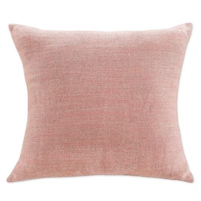 KAS Room Nola 18-Inch x 18-Inch Blush Decorative Pillow - Bed Bath & Beyond